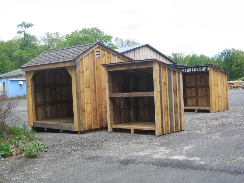 Wood Pellet Shed ~ Storage sheds